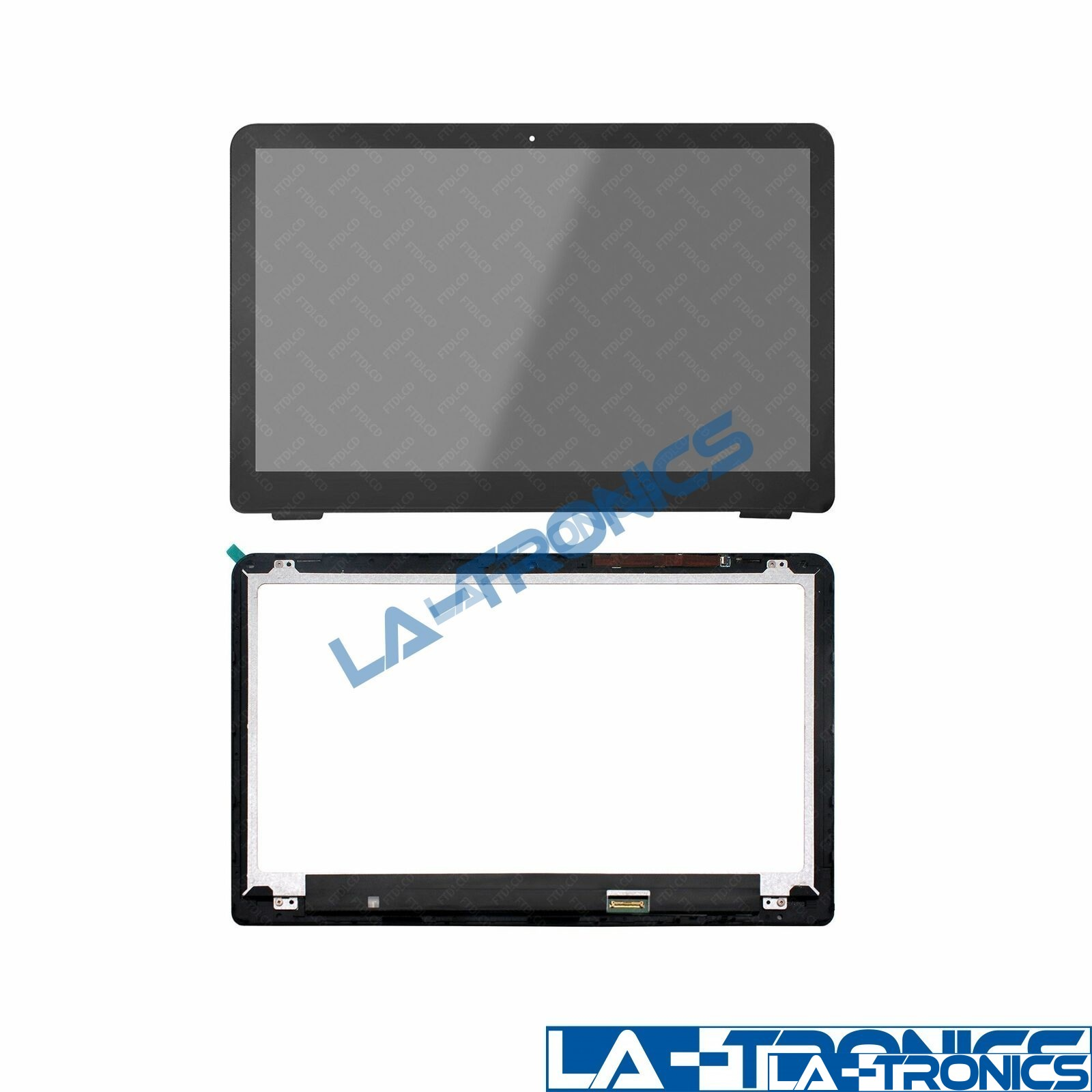 862644-001 FHD IPS LCD LED Touch Screen +Bezel For HP Pavilion X360 15-BK Series