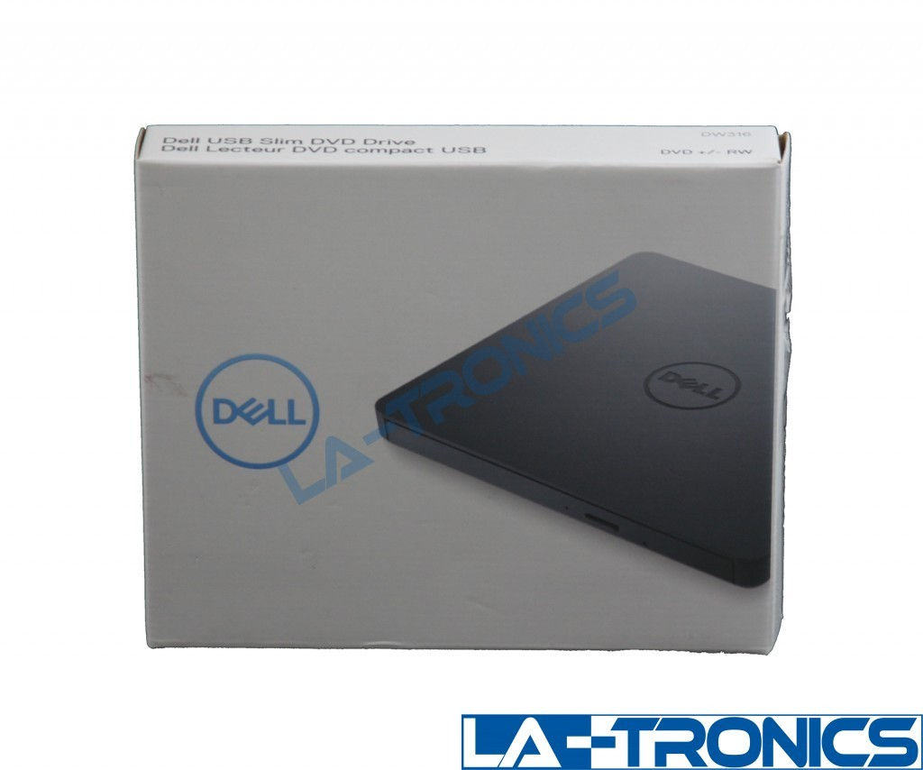 DELL USB Slim External  DVD +/- RW Drive - DW316