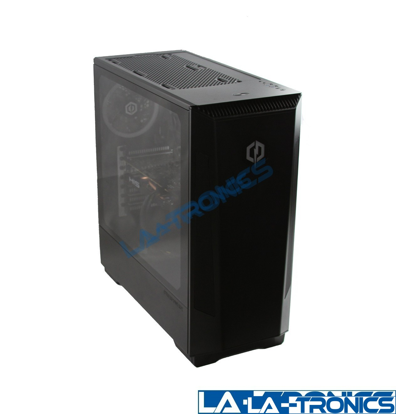 CyberPowerPC Gaming Desktop PC AMD 3.5GH Radeon RX 570 240GB SSD 1TB HDD 8GB RAM