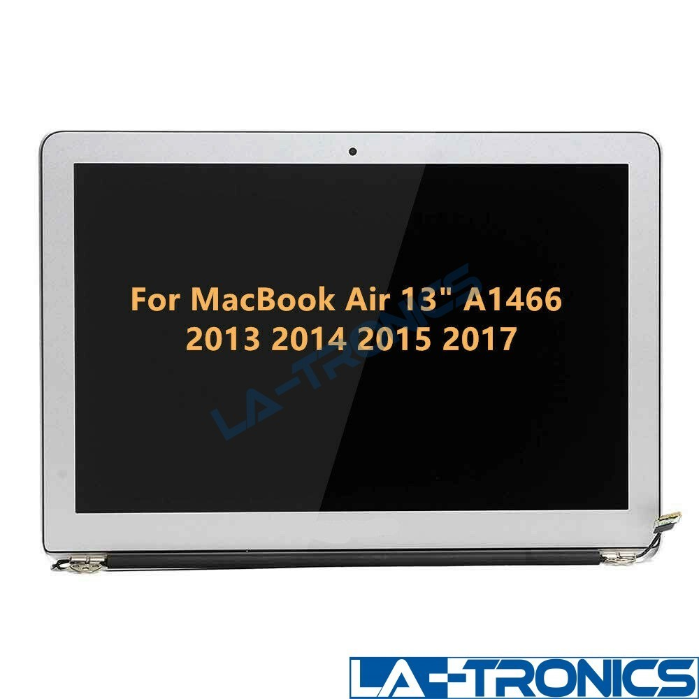 """13"""" LCD Screen Assembly For MacBook Air A1466 2013 2017 661-7475 *LOOSE HINGES*"""