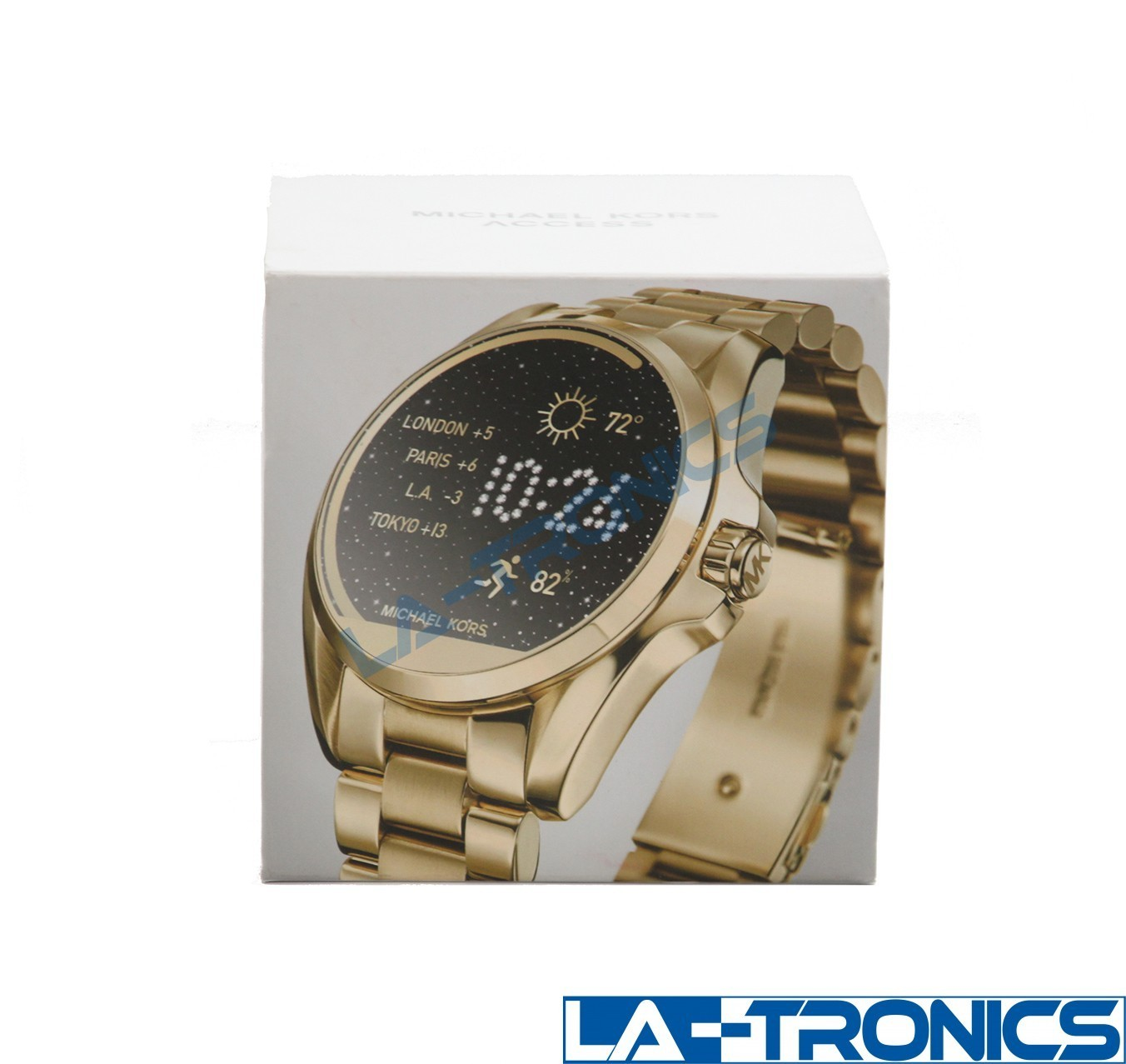 Michael Kors DW2c Access Bradshaw 44.5mm Stainless Steel Gold Smartwatch