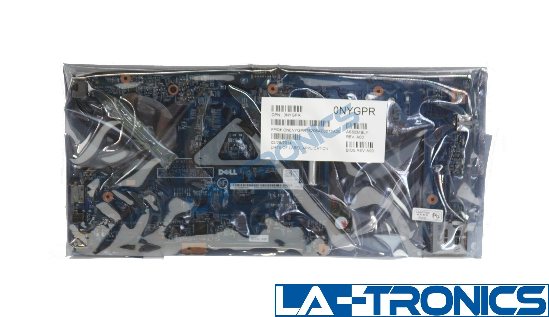 NEW Dell Latitude 3340 Laptop Motherboard i3-4010U 1.7GHz NYGPR 0NYGPR