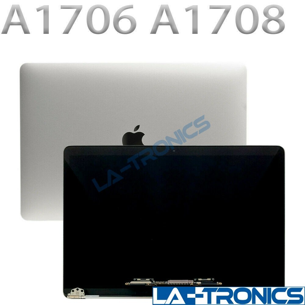 """For Apple Macbook Pro 13"""" A1706 A1708 2016 2017 LCD Screen Assembly Silver"""