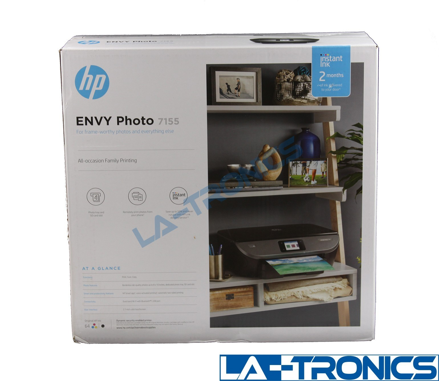 NEW HP ENVY Photo 7155 All in One Photo Printer with Wireless Printing