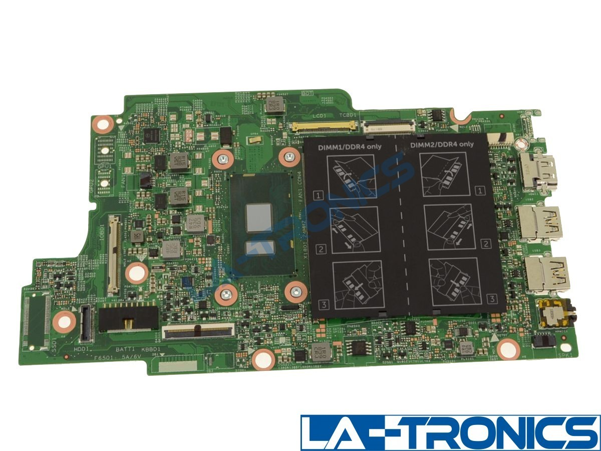 NEW Dell Inspiron 5378 5578 Intel i3-7130U 2.70GHz  2-In-1 Motherboard H95D5