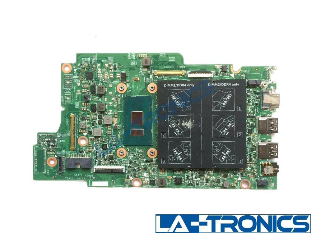 NEW Dell Inspiron 13 5368 5568 Intel Core i7 2.5GHz CPU Motherboard PJDNR