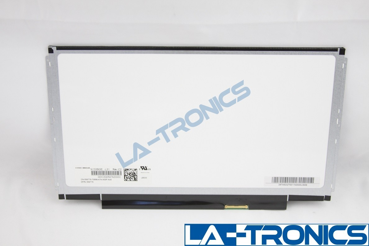 """DELL 56T75 13.3"""" LED LCD Screen HD Non Touch 56T75 N133BGE-L31 REV.C2 056T75"""
