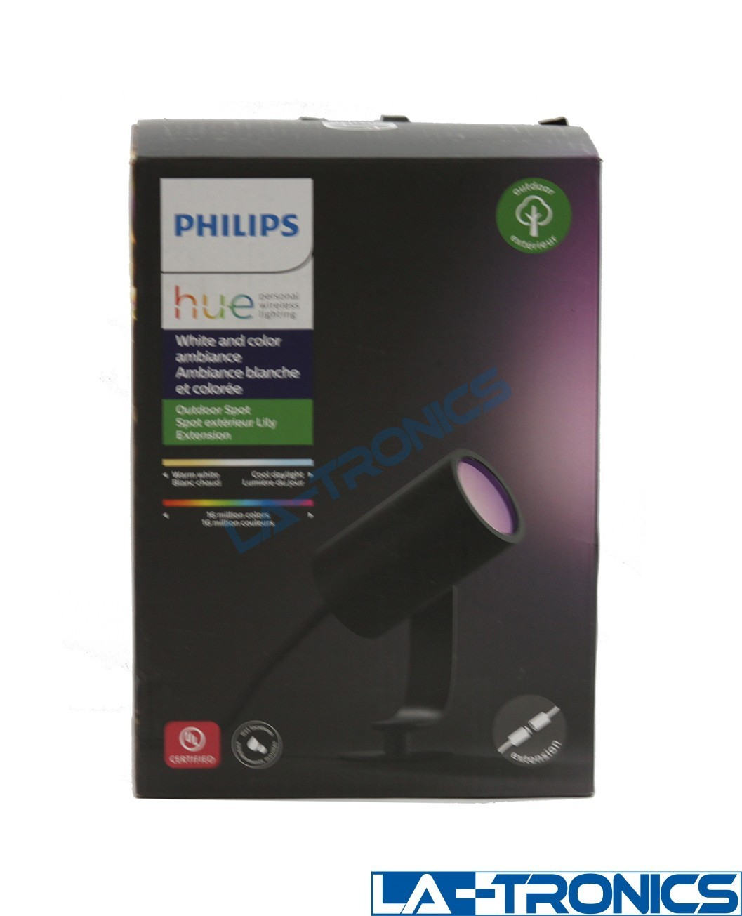 Philips 802074 Hue White & Color Ambiance Lily Outdoor Spot Light Extension Kit