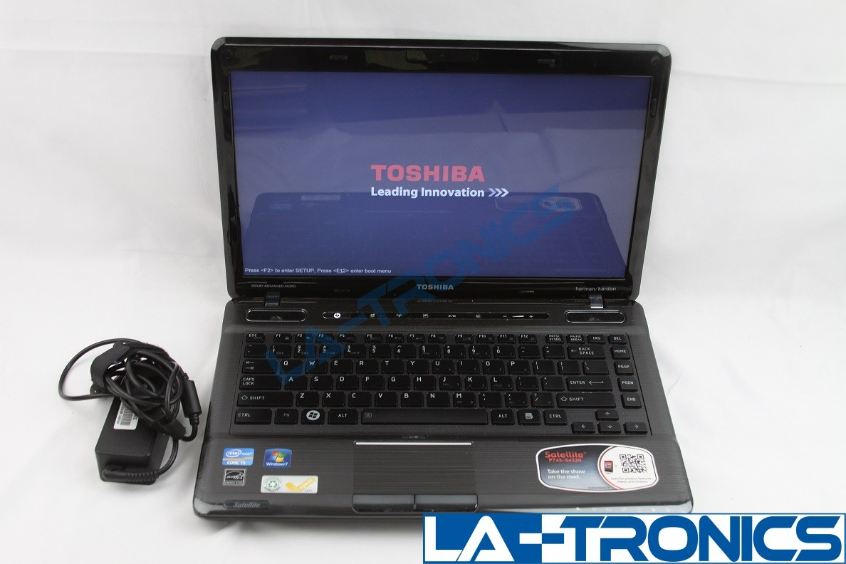 "Toshiba Satellite P745-S4320 14"" i5-2430M 2.40GHz 8GB 240GB SSD Win 10 Pro"