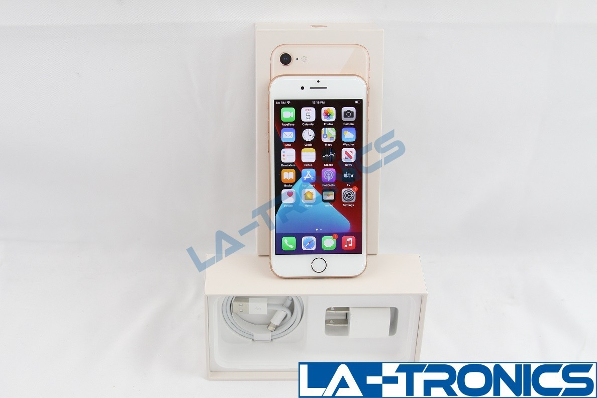 DEMO UNIT (WIFI ONLY, NO CELLULAR) New Apple iphone 8 Rose Gold 64GB A1863