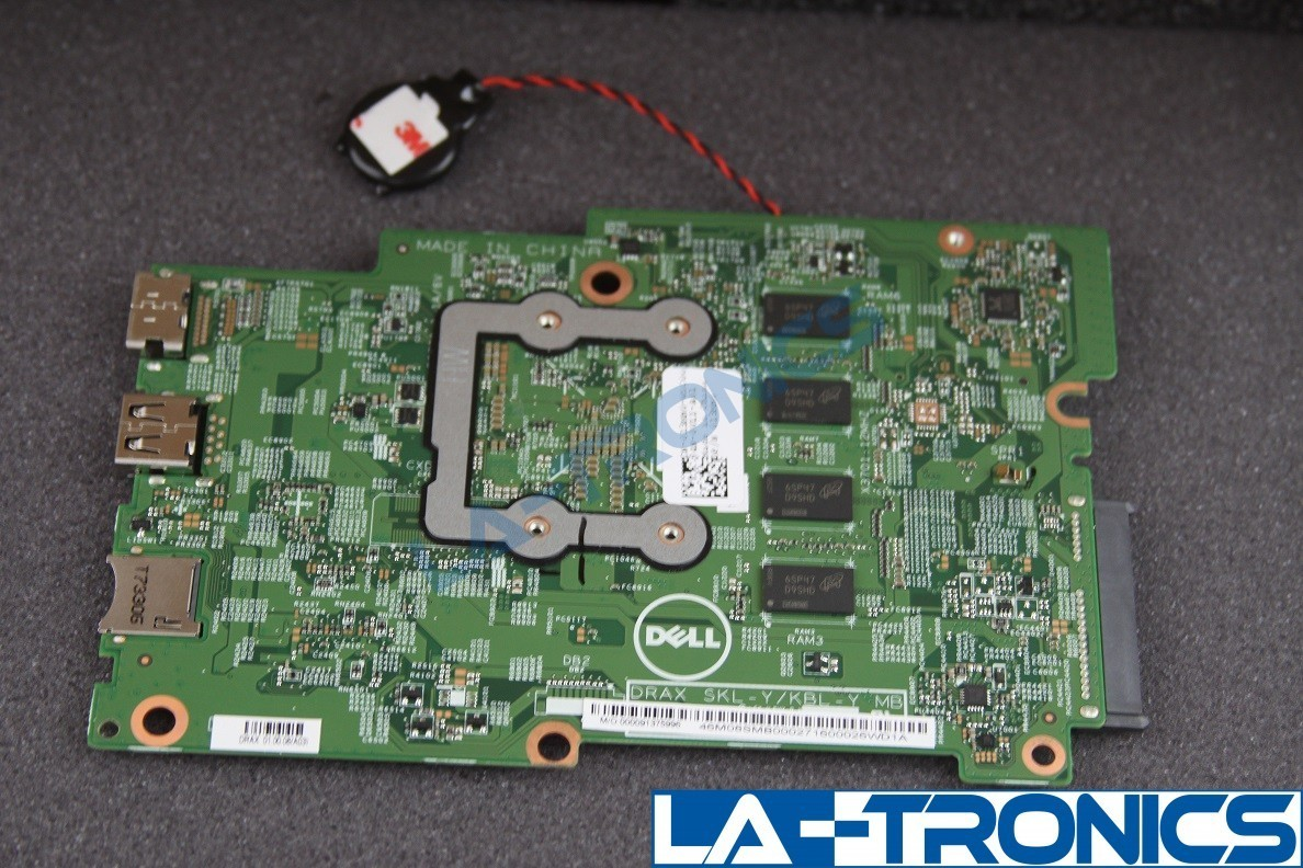 Dell Inspiron 3169 Laptop Motherboard Intel m3-6Y30 CPU 4GB RAM 013MH0 13MH0