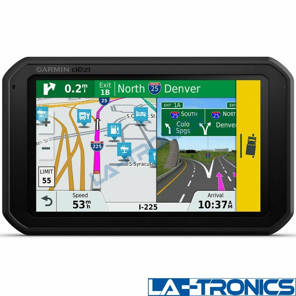"""Garmin dezl 785LMT-S 7"""" Trucking GPS with Built in Dash Cam and Magnet"""