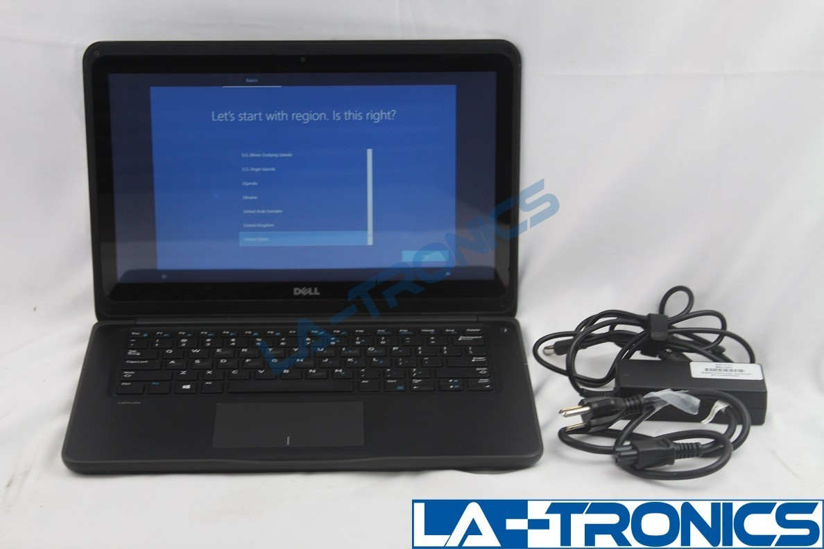 Dell Latitude 3380 13 i3-6006U 2.00GHz 8GB 128GB SSD Touch Screen DOES NOT WORK