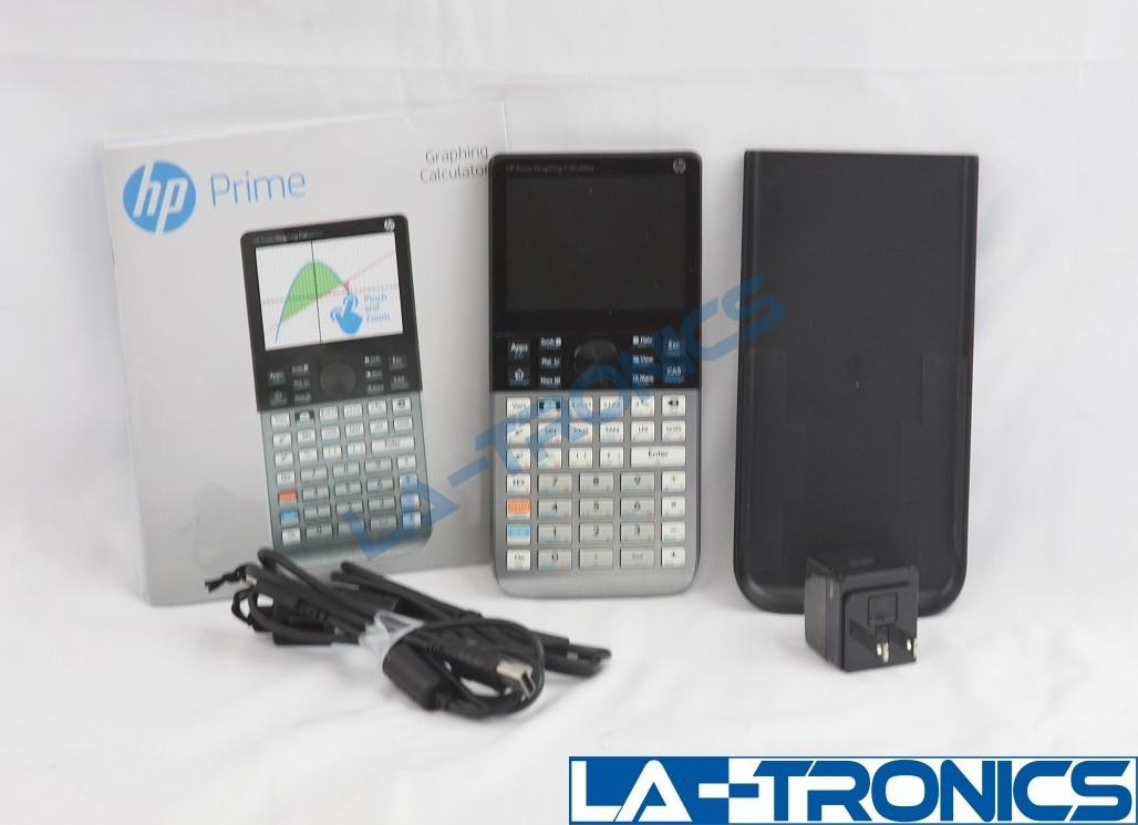 HP Prime Graphing Calculator Touch Screen With Accessories Manual And CD