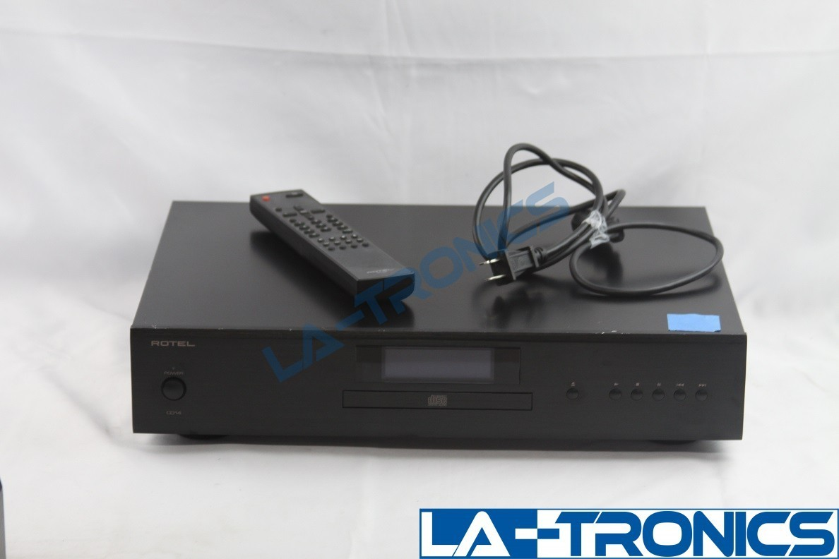 Rotel CD Compact Disc Player N1509 Black With Remote Control