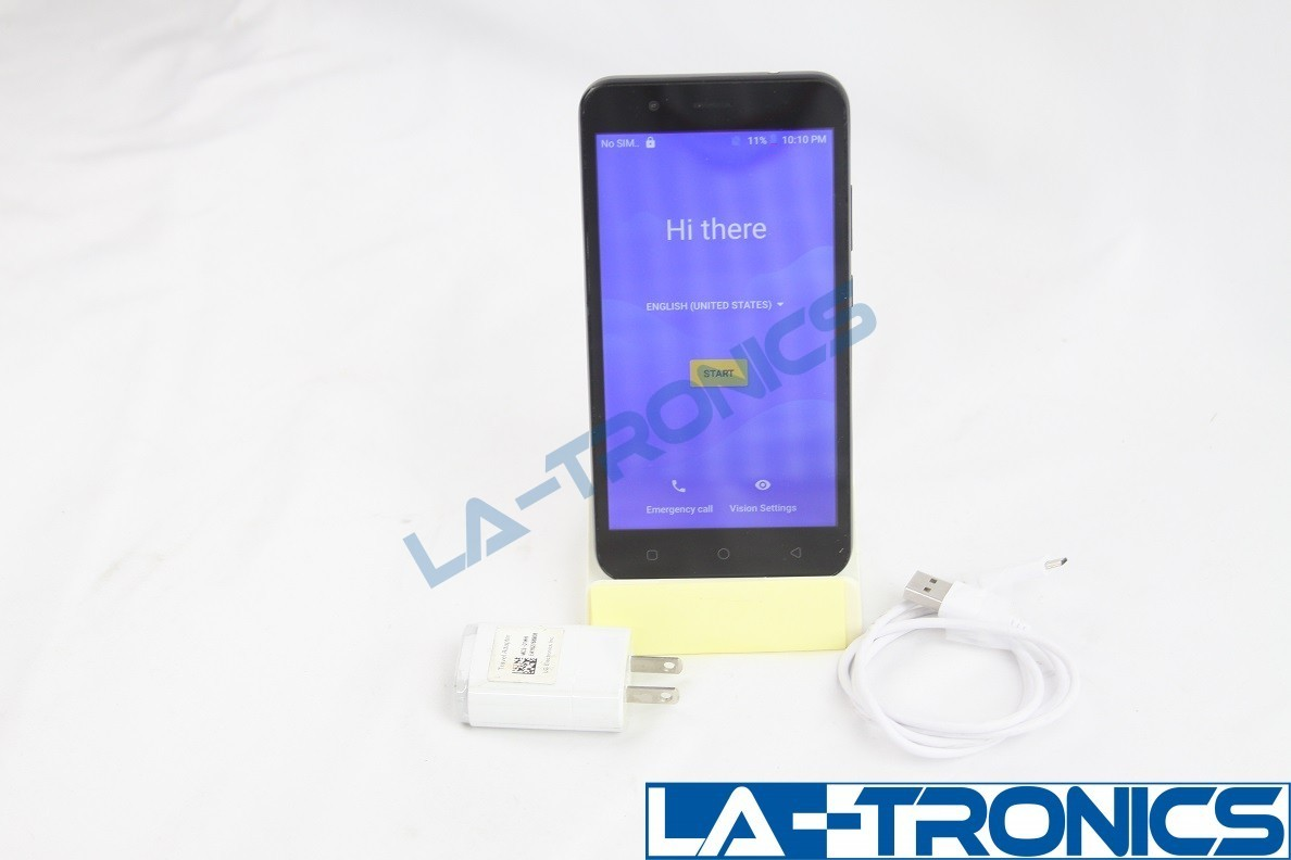 AT&T Axia Prepaid Andriod Phone 16 GB 5 Inch Display Front Rear Camera