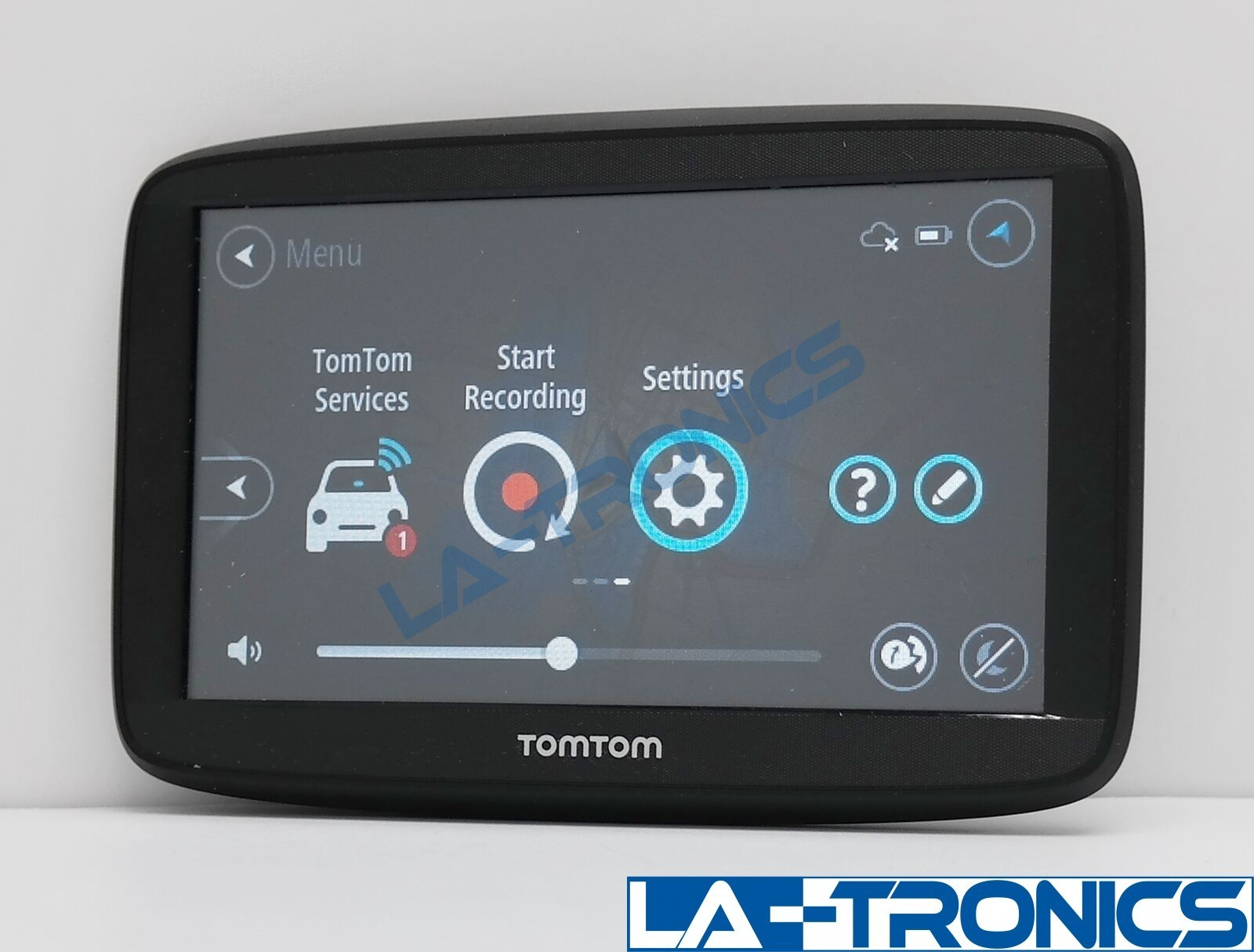 """TomTom 1525M VIA 5"""" GPS 4AA53 Monitor only"""