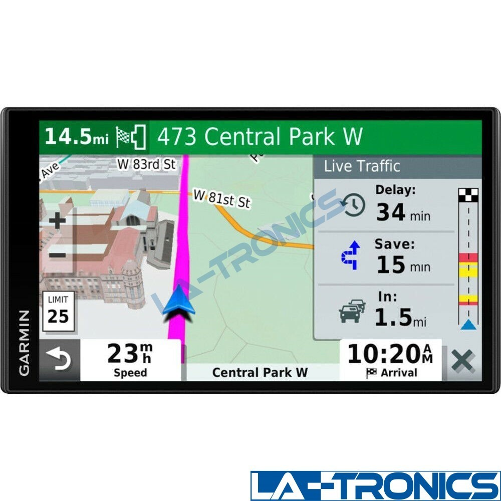 """Garmin DriveSmart 65 & Traffic 6.95"""" GPS with Traffic and Smart Features"""