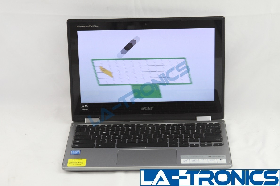 """Acer Chromebook Spin 11.6"""" Touch Screen Intel Celeron 2.4GHz 4GB 32GB N17Q8"""