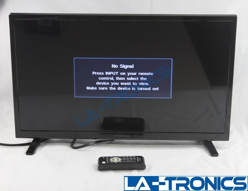 """Insignia - 24"""" Class - LED - 720p - Smart - HDTV NS-24D310NA17 WITH REMOTE"""