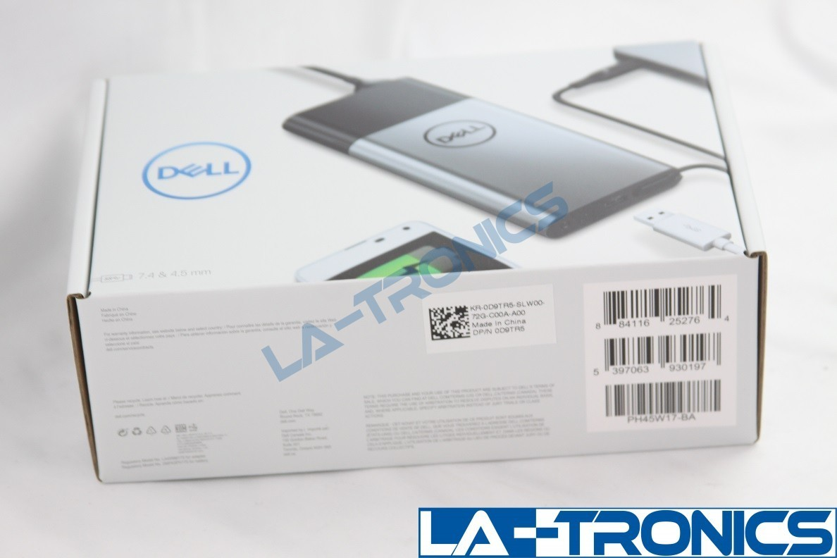 NEW Dell Hybrid AC Adapter 45W Dell Notebook Power Bank 12800mAh Charger D9TR5