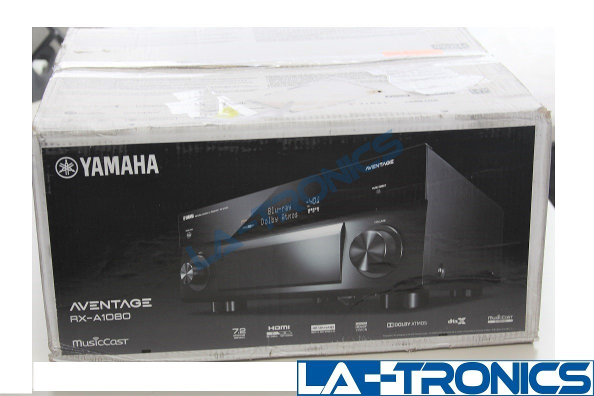 RX-A1080 AVENTAGE 7.2-Channel AV Receiver 4K Ultra Dolby Atmos With MusicCast
