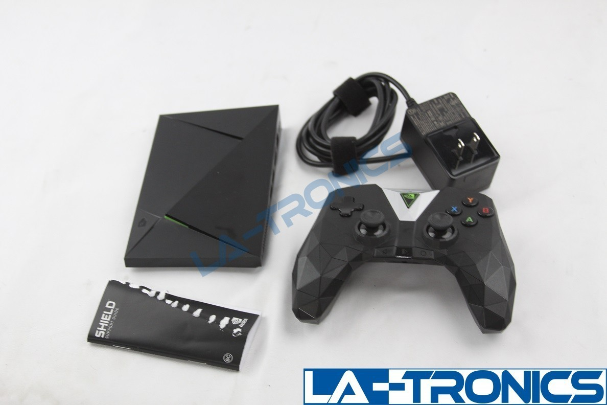 NVIDIA SHIELD TV 16GB Streaming Media Player With Controller Black P2897