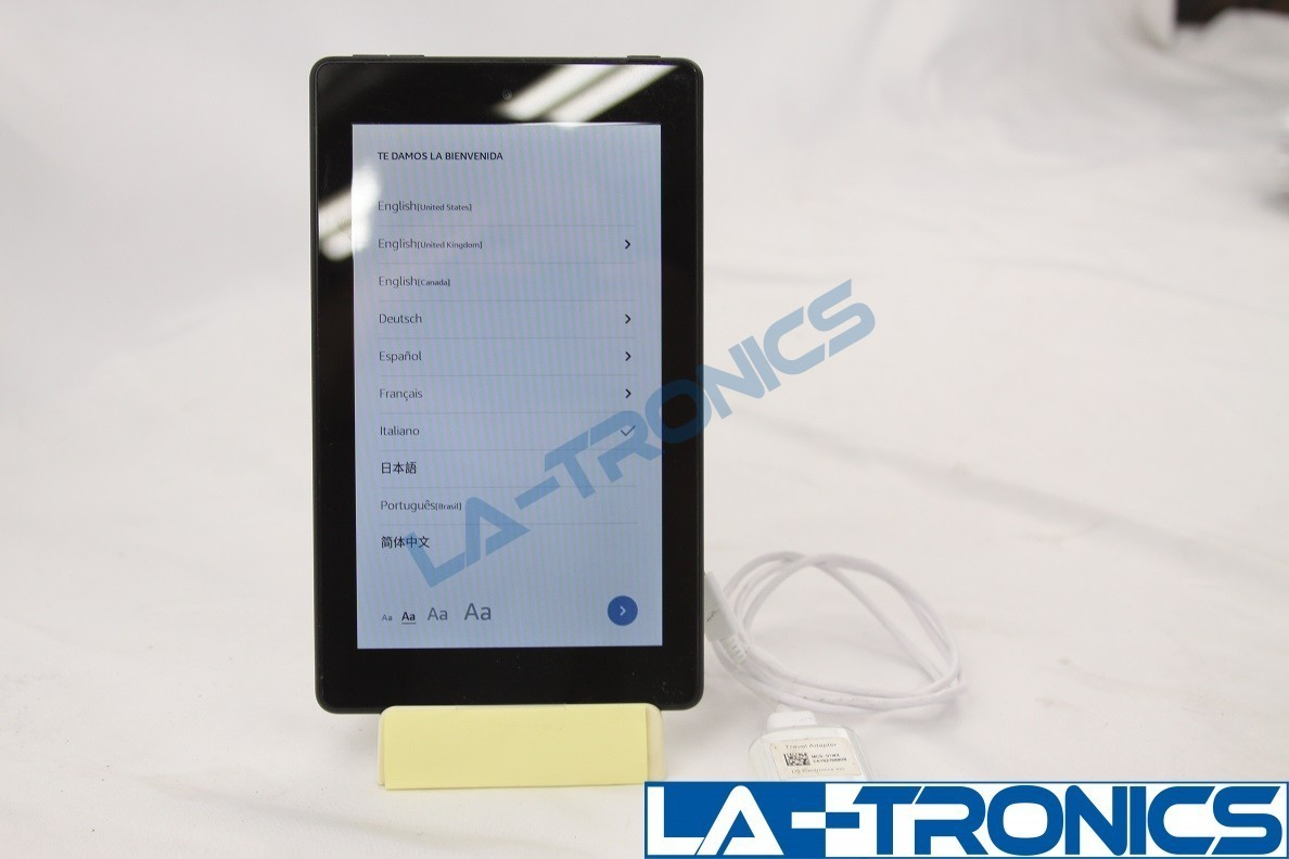 """Amazon Kindle Fire 7"""" 16GB 9th Generation Tablet EReader Black M8S26G READ"""