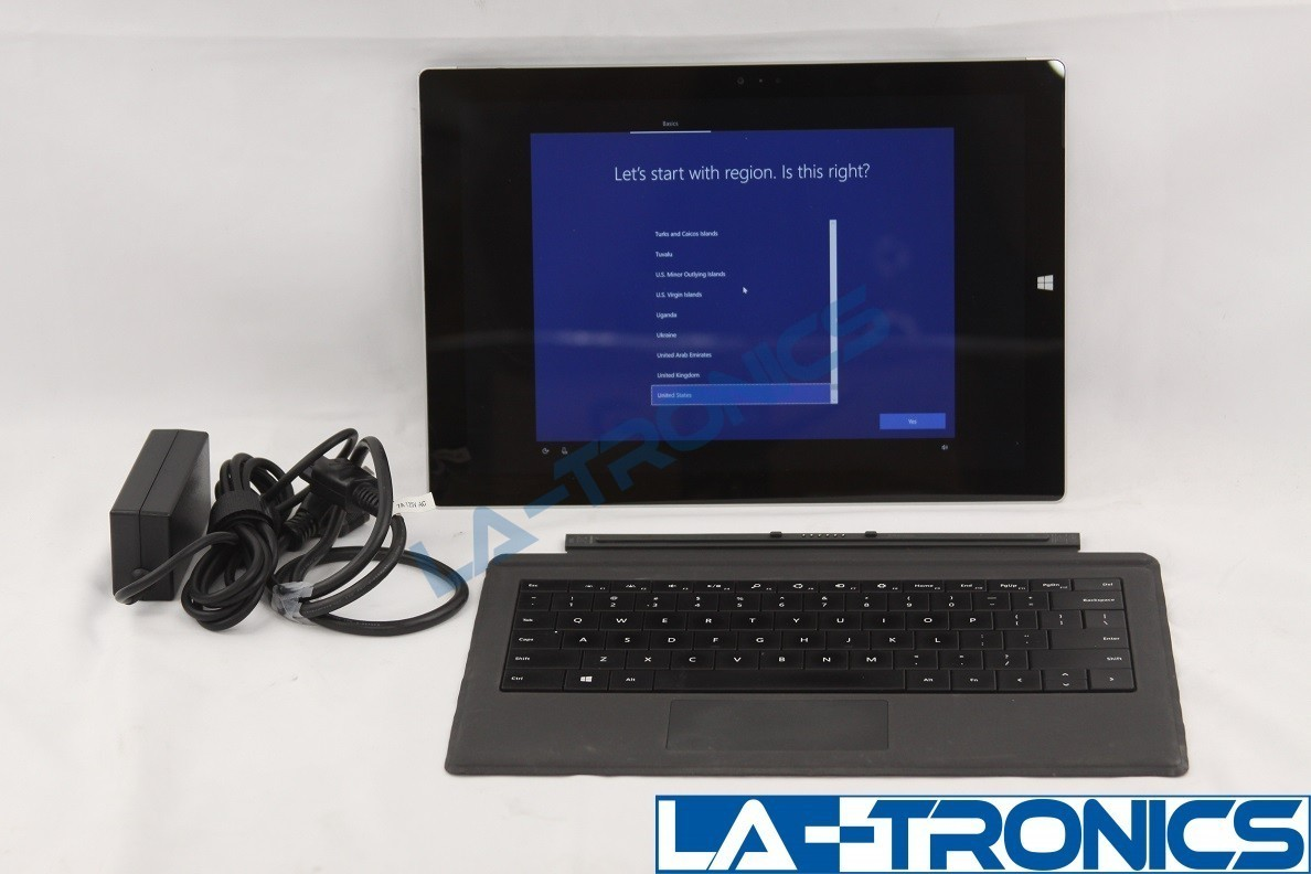 """Microsoft Surface Pro 3 - 12"""" Touch Screen Tablet Intel I7 16GB 256GB Keyboard"""