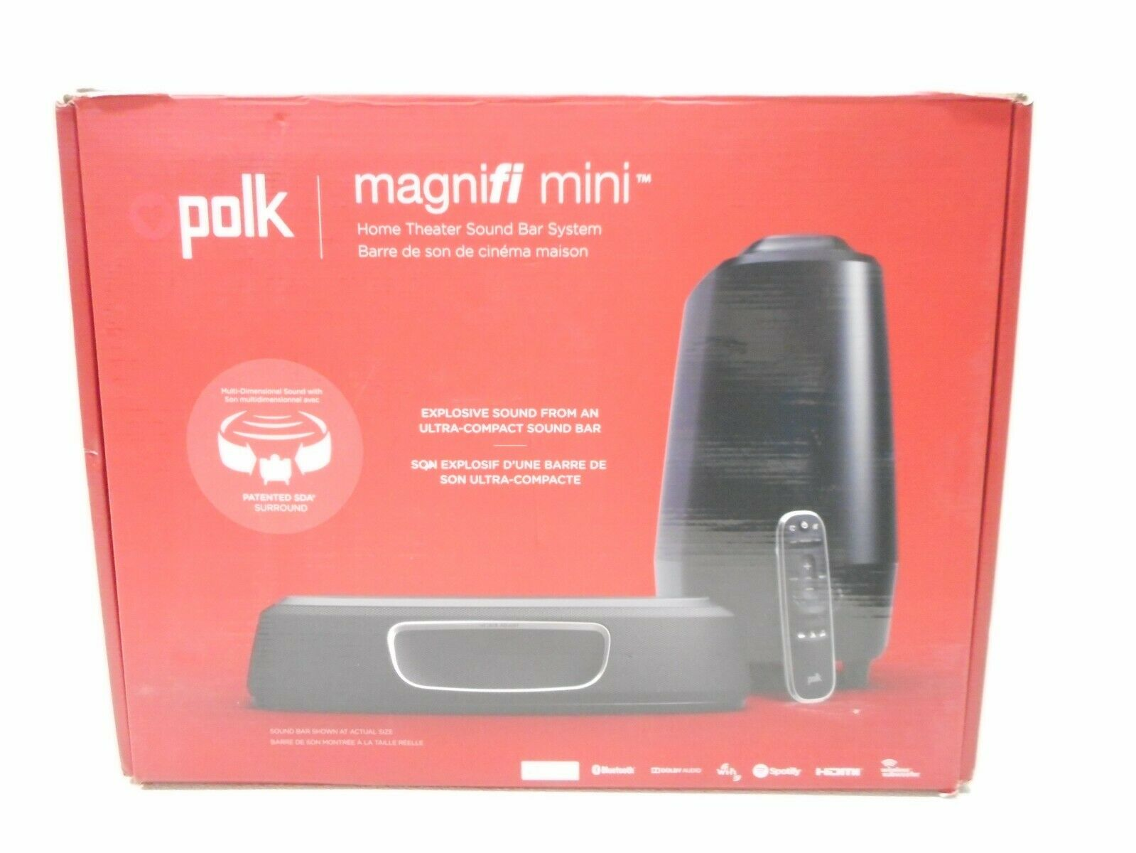 Polk MagniFI  Home Theater Mini System With Subwoofer Included