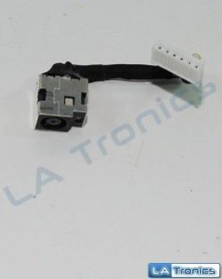 HP Pavilion G60 Genuine DC Power Connector W Cable 50.4H513.001 TESTED