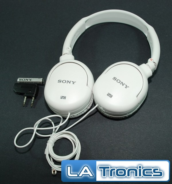 Sony noise canceling onear headphones black white