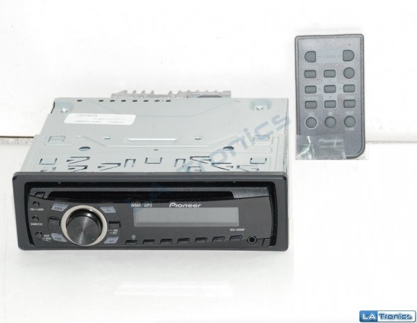 Pioneer CD Player MP3 In Dash Receiver Front Aux Remote Car Stereo DEH-1300MP