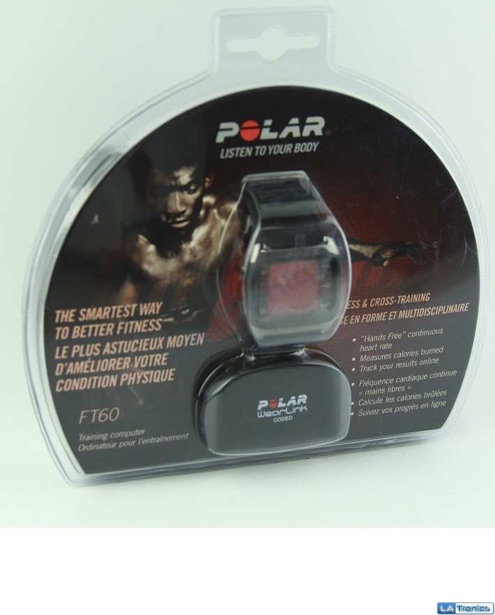 NEW Polar FT60M Men's Heart Rate Monitor Fitness Cross Training Sports Watch