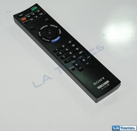 Sony Remote Control For KDL40EX400, KDL-46EX400,KDL-32BX300 1-487-827-11 Tested